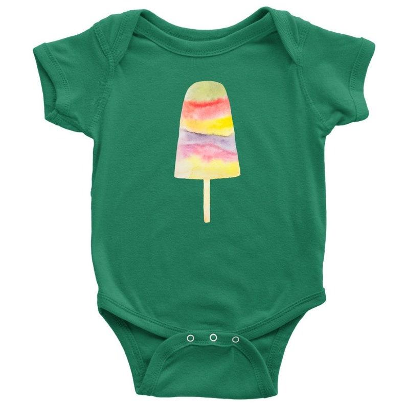 Popsicle Baby T Shirt One Piece Infant Bodysuit Ice Cream Etsy