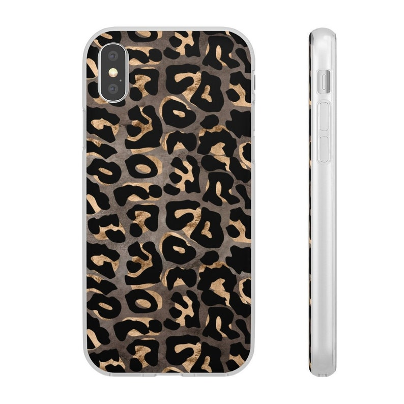 iphone xs max case leopard print