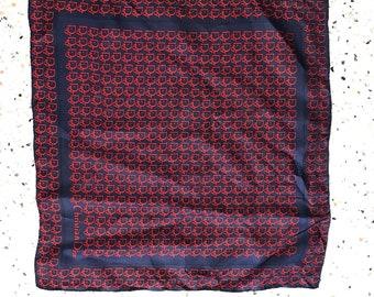 Vintage authentic christian dior silk Handkerchief