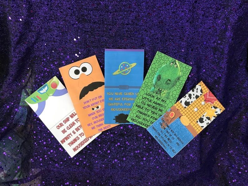 picture regarding Disney Printable Envelopes named Toy Tale Disney Mousekeeping Envelopes 5 Pack Printable Hype Lightyear Woody Rex Potatohead Aliens Economical Holder Rules