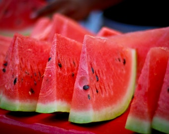 50 Crimson Sweet Watermelon Seeds - Up to 25lb Melons! - AAS Winner!