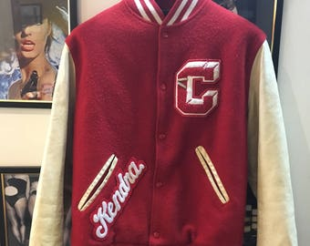 Authentic Letterman Varsity Jacket 'Year of 95' 3wy7yRcFT