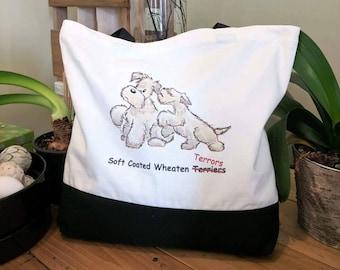Wheaten Terror Tote Bag