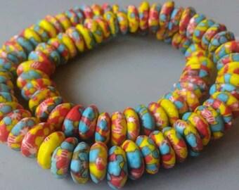 African Beadsn Fabrics