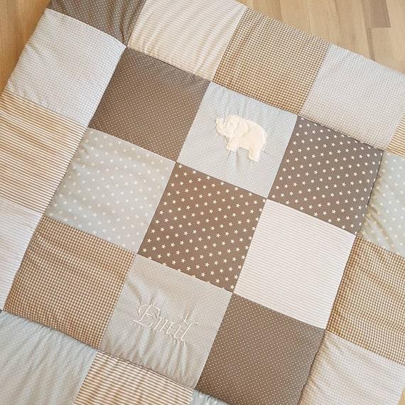 krabbeldecke babydecke spieldecke kinderdecke mit etsy. Black Bedroom Furniture Sets. Home Design Ideas