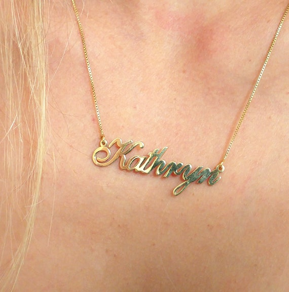 812c49622a72a name necklace etsy / necklaces for women / etsy name necklace