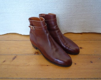 47aeed9f36ddb6 Vintage Bespoke Leather Riding Boots Jodhpur