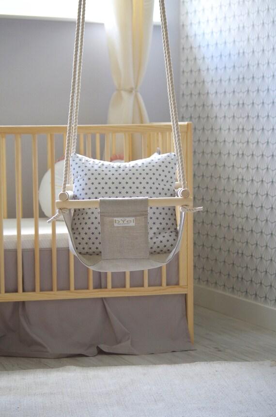 Byel babyschaukel. Kindergarten indoor Schaukel. Baby oder   Etsy