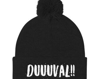 40ee714cc9d Duuuval Jacksonville Beanie   Duval County Hats   Duuuval Hats   Duval DTWD  Apparel   Jacksonville Beanie   Gifts for Jacksonville Fans