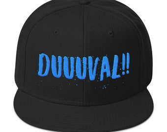 431489be642 Jacksonville Duval Hat   Duval County Hats  Duuuuval Hats   Jacksonvillle  Football Hat   Gifts for Jacksonville Fans   Jacksonville FL Hats
