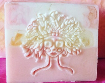Raspberry Lemonade Goats Milk Soap