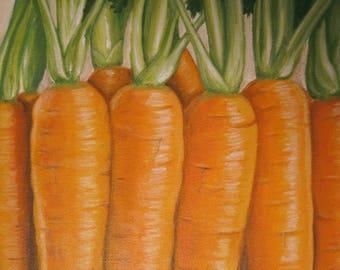 Carrots (Print on Paper)