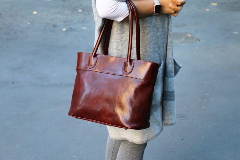 leather bag handmade leather bag handbag woman leather bag image 0