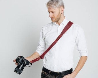 Leather Camera Strap, Camera Strap, Camera Sling Strap, Gift For Photographer, Leather Camera Sling, Sling Strap, READY TO SHIP