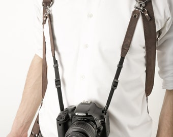 Camera Leashes, Additional Camera Strap, Third Camera Strap, Dual Cameras Strap, Two Cameras Harness, Photographer Harness