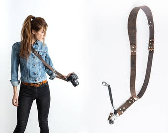 Camera Sling Strap, Camera Strap, Leather Camera Strap, Mono Camera Strap, Leather Camera Sling, Sling Strap,