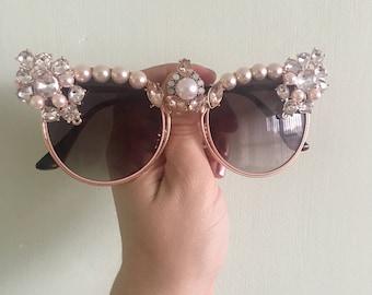 Diamonds and Pearls Sunnies