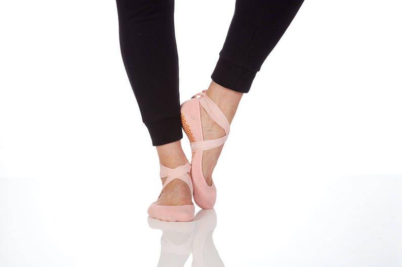 Lucky Honey Ballet Inspired Non Slip Fitness Sock
