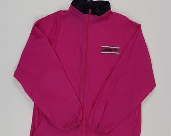 ADIDAS Antipioggia Marsupio Sportivo Anni 90 Vintage Rosa Taglia 4 2e087a3ac3c
