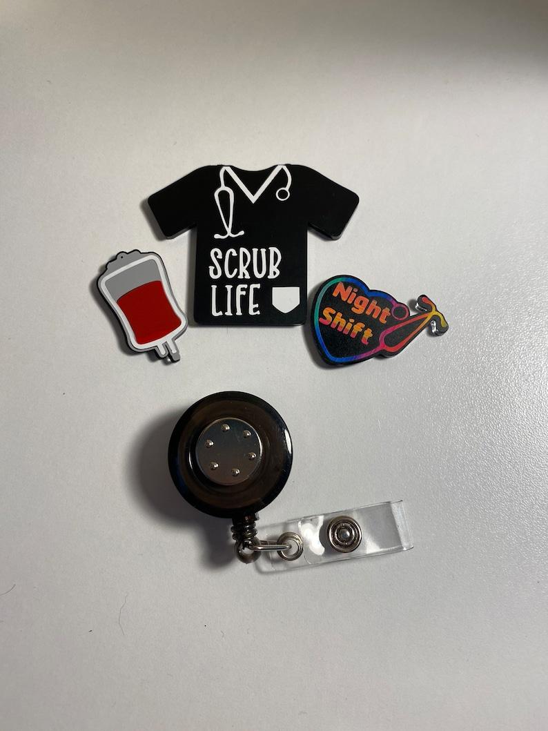 Badge Reel Set