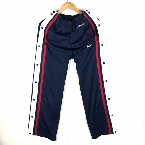 Rare vintage 90s nike swoosh trackpants fly button
