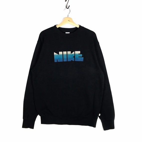 Vintage nike spellout embroidery  logo sweatshirt