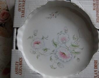 Flan Dish -Ashley Ceramics