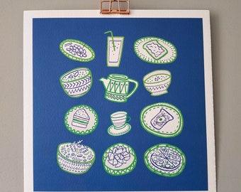 Illustration Print   Plates