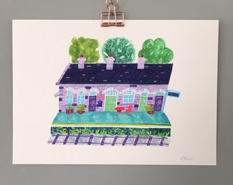 A4 Giclee Print   Cocoworks, Inverurie