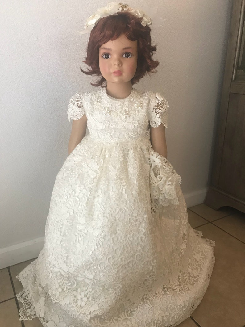 fd8f925ce58f8 Robe de bébé robe de baptême fille robe de baptême fille