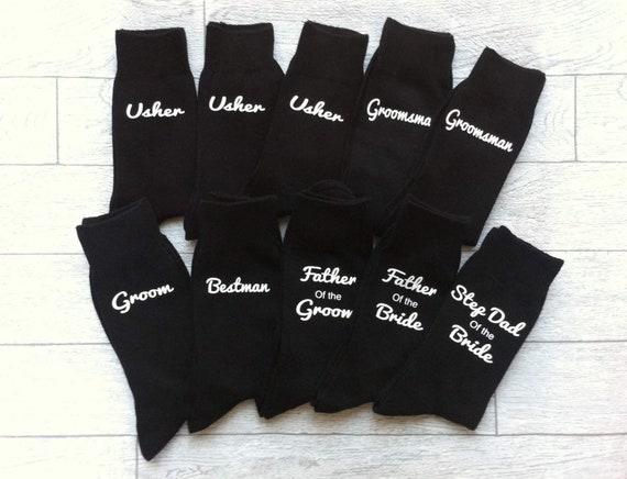 /'BESTMAN/' Wedding Day Socks