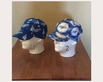 Dodger MLB   Lakers Skull Caps 25d9c6657d1
