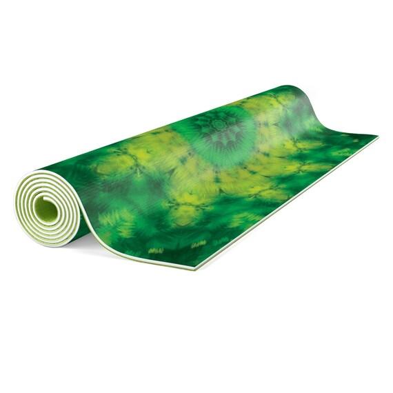 Vert Yoga Meditation Tapis Tapis Mandala Yoga Yoga Mat Cadeau Cool