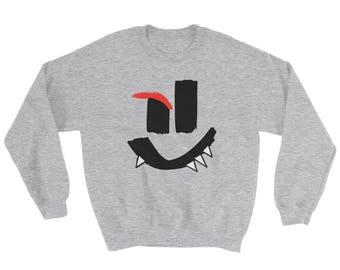 Mischievous Smiley Sweatshirt