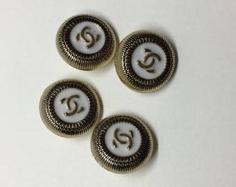 CC Designer buttons - listing for 4 Pretty buttons