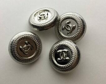 Designer 4 Buttons, Charm Pendant Bracelet