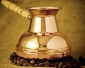 TURKISH COFFEE POT maker, greek stovetop, cezve ibrik, jezve turka (500ml)
