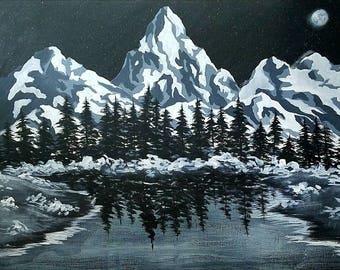 "Nature landscape series: ""Timeless Tundra"""