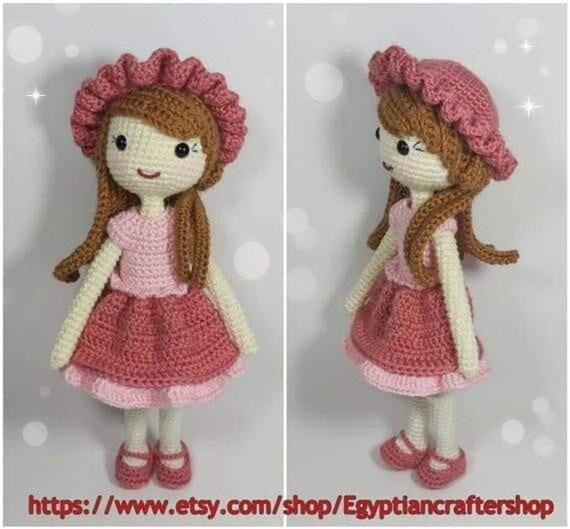 Dress Up Dolls Amigurumi Crochet Patterns - Crochet Pattern Book | Crochet  amigurumi, Crochet dolls free patterns, Crochet patterns | 529x570
