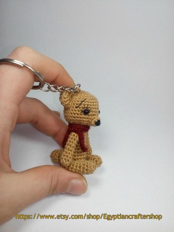 Ravelry: Amigurumi Teddy Bear Keychain pattern by Serah Basnet | 760x570