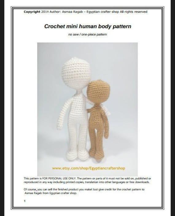 One Piece Crochet Doll Pattern | Supergurumi | 701x570