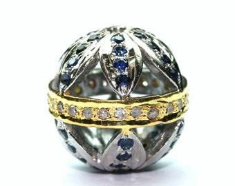 Sapphire Jali Ball