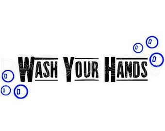 Wash Your Hands SVG FILE