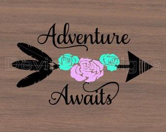 Adventure Awaits SVG
