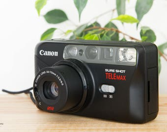Canon Sure Shot Telemax - Prima Twin S - Vintage Compact 35mm - Analog Camera