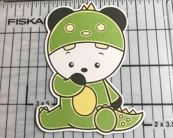 Dragon Panda Planner Die Cut