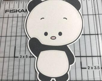 Hello There Panda Planner Die Cut
