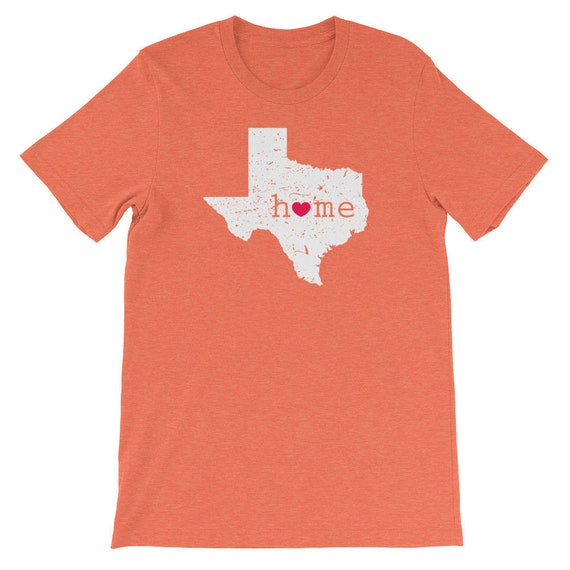 I Love Texas T-Shirt Heart TX Womens