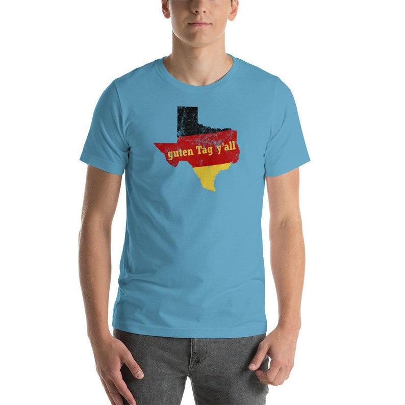 229ac849 Funny Oktober Fest T Shirt Guten Tag Yall Texas German | Etsy