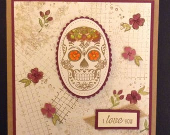 "Sugar Skull ""I Love You"""